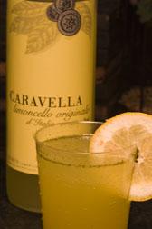 Limoncello Mint Cocktail