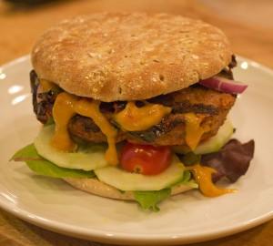 Chipotle Turkey Burger