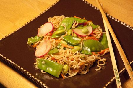 Wasabi Noodle Salad