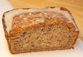 Bananas Foster Bread Loaf