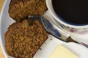 Bran Muffin and Coffee