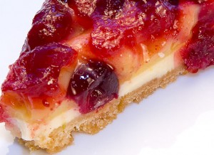 Almond Cranberry Lime Tart