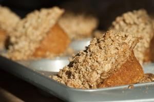 Spelt Flour Carrot Muffins
