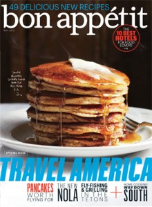 Bon Appetit May 2013 Cover