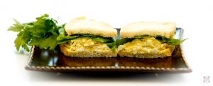 Horseradish Egg Salad Sandwich