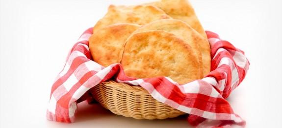 Golden Pita Bread