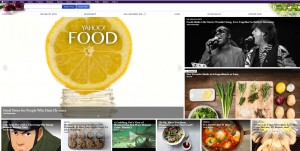 Yahoo bring a new portal for foodies